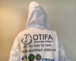 Jackets for the OTIFA volunteers