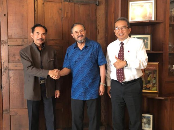 Prof. Dr Indratmo Soekarno of ITB Bandung agrees to assist the bio-sealing project in Indonesia. (June 2019)