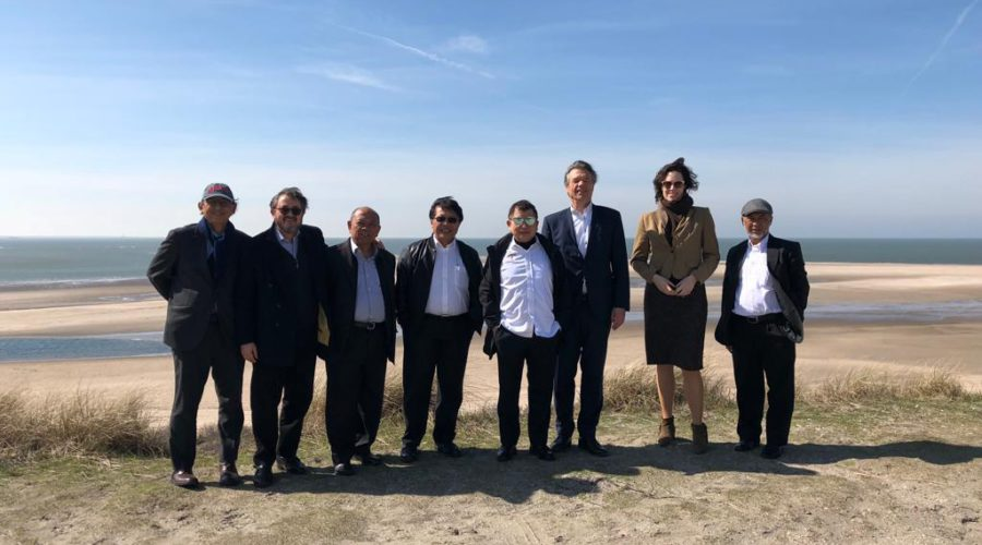 Then Advisor to Indonesian President Joko Widodo and now BAPPENAS/Planning Minister Suharso Monoarfa and his delegation tour the vast Port of Rotterdam site, guided by Port of Rotterdam International Director René van der Plas, during their visit to The Netherlands organized by PA in April 2018