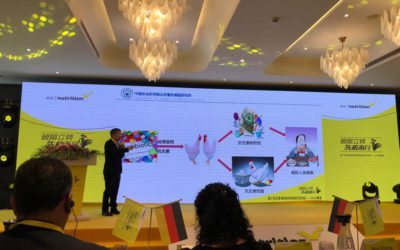Prof. Jia Yaxiong of the Institute of Animal Science of the China Academy of Agricultural Sciences provides his insights regarding combating AMR as his institute tested feed supplements that can effectively replace in-feed antibiotics (conference in Shanghai in October 2019)