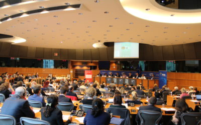 Conference 'Scientific, Human Health, Husbandry, and Socio-Economic Aspects of Antibacterial Resistance: Time To Act' on 28 June 2017 in the European Parliament, co-hosted and co-chaired by Adina-Ioana Vălean (then Chair of ENVI, now European Commissioner of Transport), Pavel Poc (then Vice Chair of ENVI, now Vice Chair of PA) and Fredrick Federley (then ALDE coordinator in ITRE, now Member of ENVI) and co-organized by PA International